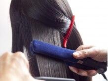 カッティングアンドカール ヨヨギ(cutting&curl YoYoGi)の雰囲気(≪縮毛矯正≫つい触りたくなるような、柔らかい仕上がり☆)
