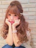 ヘアガーデンプア(Hair Garden Pua)春ゆるふわウェーブ【松戸市常盤平駅美容室ヘアガーデンプア】