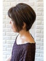 ティッシュ(tissue)50s short hairstyle by tissue