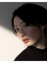 ヘアメイク エイト キリシマ(hair make No.8 kirishima)《hair make No.8・中村》センターパートショート