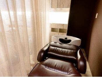 キープへアデザイン(keep hair design)の写真/【髪質改善SALONの本格極上スパ】4種の香りから選ぶアロマ&半個室空間&フルフラット台でリラクゼーション♪
