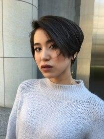 ウィルゴ(VIRGO)2018年ブリーチなしアッシュ☆小顔ショート