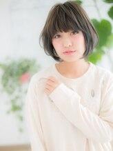 ヘアサロンダンボ(hair salon DUMBO)+dumbo与野+ フリンジバング☆大人ボブa-1