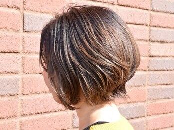 アルベレットオブヘア (arBellet of hair)の写真/大人可愛く上品なショート。技術にこだわりがあるからこそ骨格補正で小顔みせGood。初めてのイメチェンも◎