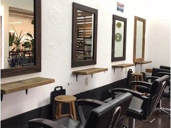 ヘアーゴニーバース(Hair 52 birth)の写真/東諫早にある隠れ家サロン 【Hair 52 birth】。静かな店内でゆっくりとサロンタイムをお楽しみいただけます