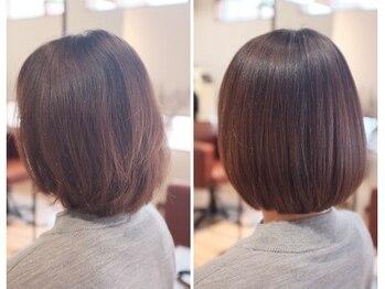 ヘアースタジオ ライト(HAIR STUDIO LIGHT)の写真/ライトの白髪染めはただ染めて終わりではありません。本質的なキレイを一緒に目指しましょう♪