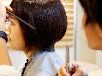 コモン ヘア デザイン(COMMON hair design)の写真/ 口コミで絶賛の他とは違うカット技術☆ブローだけでまとまるから、毎朝簡単スタイリング♪