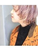 アルゴンキントウキョウ(THE ALGONQUIN TOKYO)トリプルカラーでピンクベージュ☆