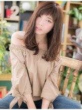 カバーヘア ブリス 北浦和西口店(COVER HAIR bliss)*+COVER HAIR+*…大人ガーリーロングa