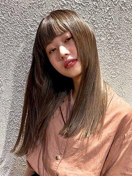 トラム(TRAM)の写真/髪質改善★酸熱トリートメント導入!ダメージレベルやお悩み・髪質に合わせて貴方だけの美髪ケアを♪
