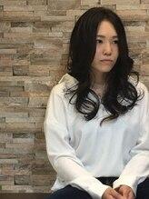 イースタイル ひばりが丘店(e style)暗髪セミロング☆センターパート