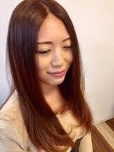 アロマエミュー(aroma emue)【アミポリスカラー★】ツヤ髪ロングヘアー