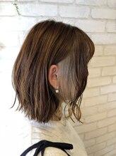 ヘアーサロン ライズネクステージ(hair salon RISE nextage)切りっぱなしボブINインナーカラー