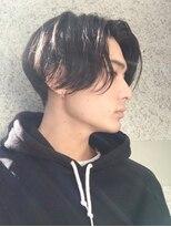 フィフス(fifth)トランクスヘア/メンズパーマ/ツーブロック/黒髪/かき上げヘア○