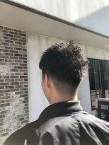 ヘアー アイス カンナ(HAIR ICI Canna)ナチュラルフェードスタイル
