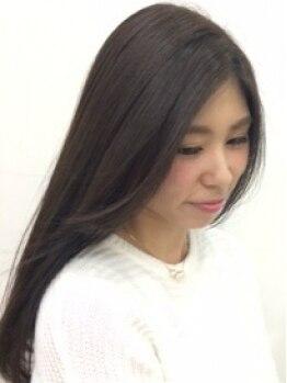 アジアン北谷店(Asian Hair&Nail salon)の写真/クセで扱いにくい髪を、お客様の髪質診断にて薬剤選定します。ダメージレスでサラ・ツヤ髪を手に入れよう!