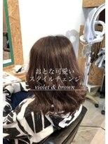 ダブルケーツー 倉敷店(wk-two)☆おとな可愛い violet brown☆