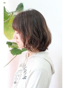 ヘアーアンドメイク アネラガーデン(HAIR&MAKE Anela garden)♯ボブ♯ゆるふわパーマ