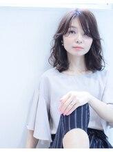 ノワール ヘアー デザイン(noir hair design)noir hair catalog14/ミディウェーブ