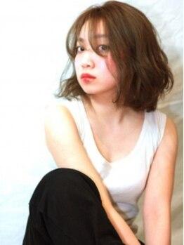 御髪(オグシ)の写真/【カラー+カット+贅沢補修トリートメント(ホームケアプレゼント)¥7020】(※S・B込み、ロング料金なし)