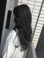 f'☆暗髪ハイライトカラー