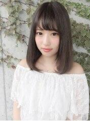 【大人可愛い旬色】カット+潤いカラー+潤い艶Tr¥21060→¥9180