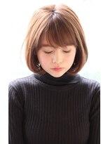 【30代・40代・50代】大人女性の毛先ワンカールひし形ボブ
