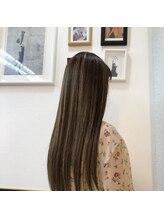 ヘアースタジオ ハーフバック 高尾店(HAIR STUDIO HALF BACKS×1/2)コントラストハイライト