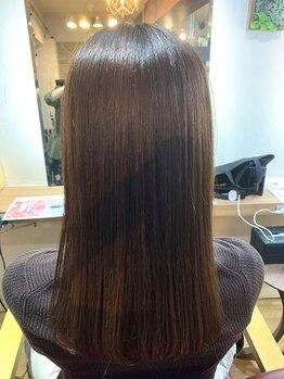 """ファンドット(Fan.)の写真/髪質改善☆キラ髪ストレートを""""Fan.""""で実現!一人ひとりの髪質に合わせてご提案させて頂きます◎"""