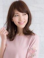 ヘアサロン ナノ(hair salon nano)☆外国人風グレージュカラー☆外ハネミディ☆