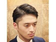ヘアーサロン キンザマツナガ 築地店(Hair Salon GINZA MATUNAGA)の雰囲気(令和も続くツーブロックで旬なスタイルに★<理容室>)