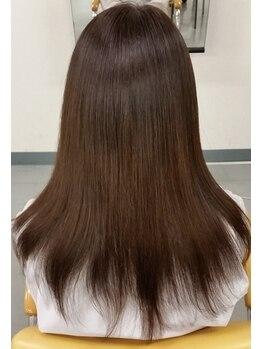 ヘアーカラー ドゥ(HAIR COLOR Do!)の写真/頭皮と髪をキレイに♪手触り抜群のサラ艶髪を叶える、人気の『水素トリートメント』☆口コミでも高評価◎