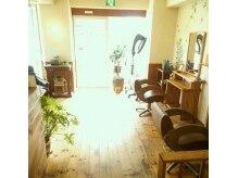 ヘアー サロン レイラン(Hair Salon REIRAN)の雰囲気(2席のみのゆったり店内)