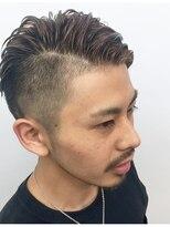 【heel】上杉秀明 ワイルドツーブロックモヒカン☆サイドパート