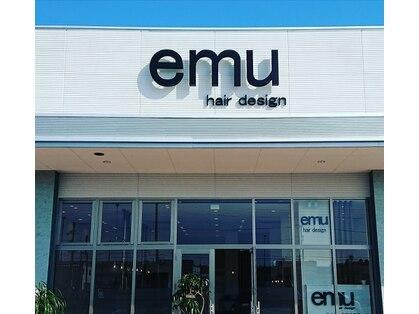 エミューヘアー デザイン ゆいの杜店(emu hair design)の写真