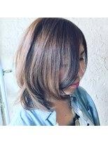 ギミック ヘア ファクトリー(gimmick hair factory)アディクシー×透明感レイヤーミディ