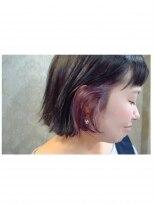 ヘアドレッサー ミアン(HAIRDRESSER MIEN)デザインカラー《ピンク♪》【稲毛】