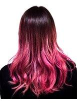 ピンク ×ピンク