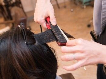 恋する毛髪研究所 金町laboの写真/最低限のダメージで最大限の結果を導く恋髪ストレート♪作りこみ過ぎないナチュラルなストレートが大人気!