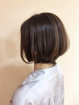 ライフヘアデザイン(Life hair design)の写真/同世代のスタイリストが手掛けるスタイルで、今の気分にフィットするワンランク上のグレイカラーをお届け☆