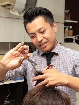 ヘアーサロン イシマル(Hair Salon ISHIMARU)の写真/ビジネスマンは清潔感が大事!清潔感のある好印象BarBerスタイルは当店にお任せ下さい☆