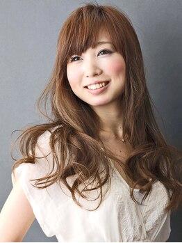 サクラヘアー 網干店(SAKURA Hair)の写真/パーマ剤のニオイが苦手な方にもオススメ☆人気のオゾンパーマ!!髪に優しい成分でカラーとの同時施術もOK☆