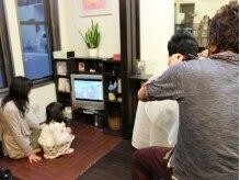 サクラヘアデザイン(sakura hair design)の雰囲気(キッズスペースあります。パパもママも家族で通える♪)