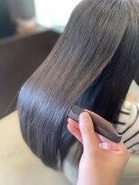 大人セミロング/ツヤ髪/イルミナ/髪質改善/Aujua/上品スタイル