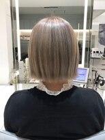 レイズ 立川(RAYS)【RAYS金本】ミニボブ・パールグレージュ[立川/髪質改善]