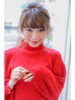 アミ(Ami)【Ami】アレンジしやすい髪型 可愛い前髪カット前髪パーマ