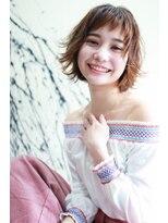 ラフィス ヘアーピュール 梅田茶屋町店(La fith hair pur)【La fith】 外ハネボブスタイル