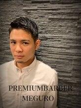 プレミアムバーバー 目黒店(PREMIUM BARBER produce by HIRO GINZA)かき上げショートヘア