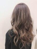 ヘアーエスクールステラ(hair S.COEUR stella)ハイライト グレージュ