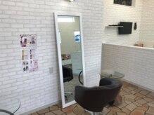 美容室 アイシー(ai-sy)の雰囲気(少人数のアットホームなプライベートサロンです♪)
